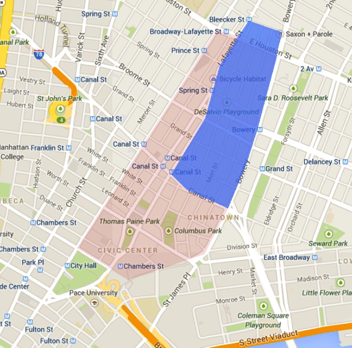 san francisco little italy map Little Italy San Francisco Map Map Of Little Italy San Francisco